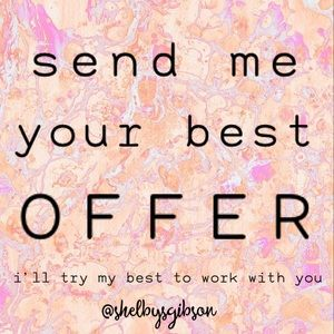 💕All offers considered!💕